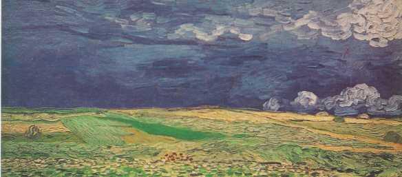V. Van Gogh, Ciel bleu et Nuages blancs, 1980, Amsterdam, Museo Van Gogh