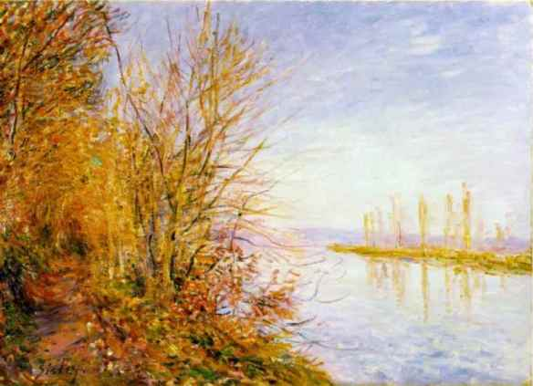 Alfred Sisley, Estate di San Martino, 1880