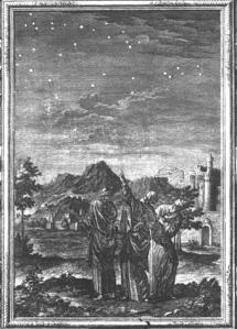 I Re Magi, acquaforte (Georg Daniel Heümann, Norimberga 1691 – 1759)