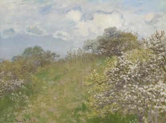 Printemps, 1873 (Primavera) olio su tela Johannesburg Art Gallery