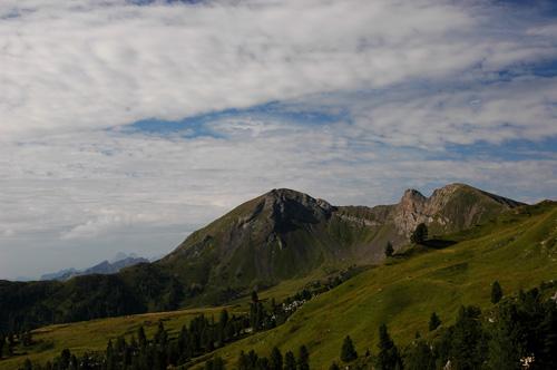 Col di Lana e Sief dal Passo Valparola (Ma bohème - foto by Primula