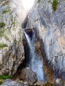Cascate del Pisciadù - Colfosco Val Badia (foto personale)