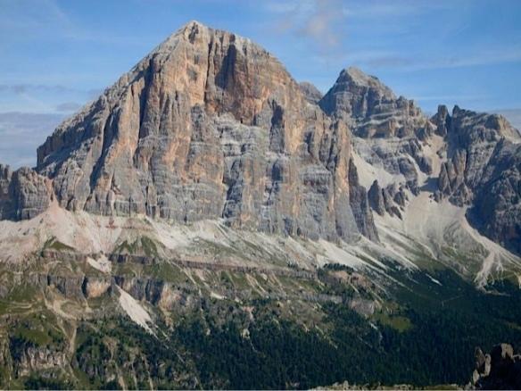 Parete sud della Tofana di Rozes vista dalle Cinque Torri (Ma Bohème - foto by Primula)