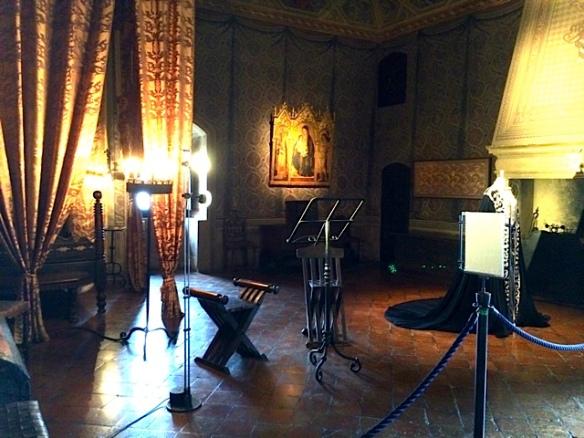 La stanza di Francesca - Rocca di Gradara foto by Primula - Ma Bohème