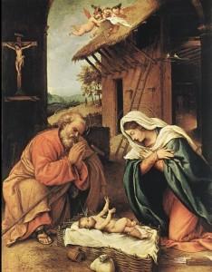 Lorenzo Lotto, Natività, 1523