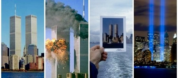 Twin Towers, before - after